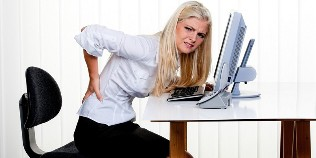 Can the back pain from bowel disease